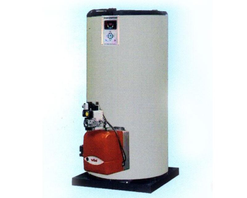 燃(油)气立式常压冷凝热水锅炉
